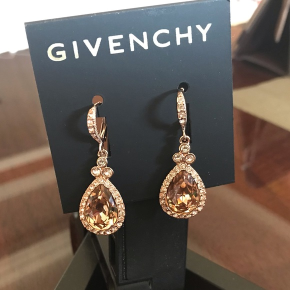 givenchy rose gold earrings
